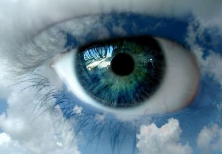 eye in cloud